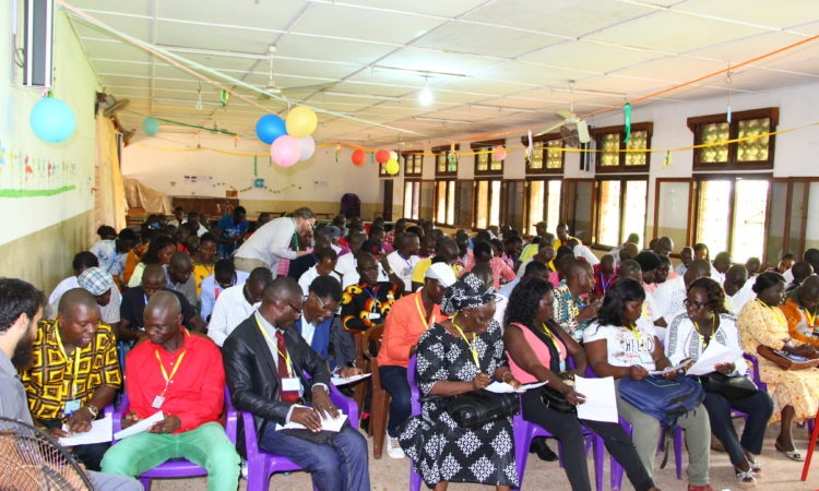 First-ever National English Teacher Convention in Guinea Bissau